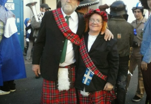 scottish couple